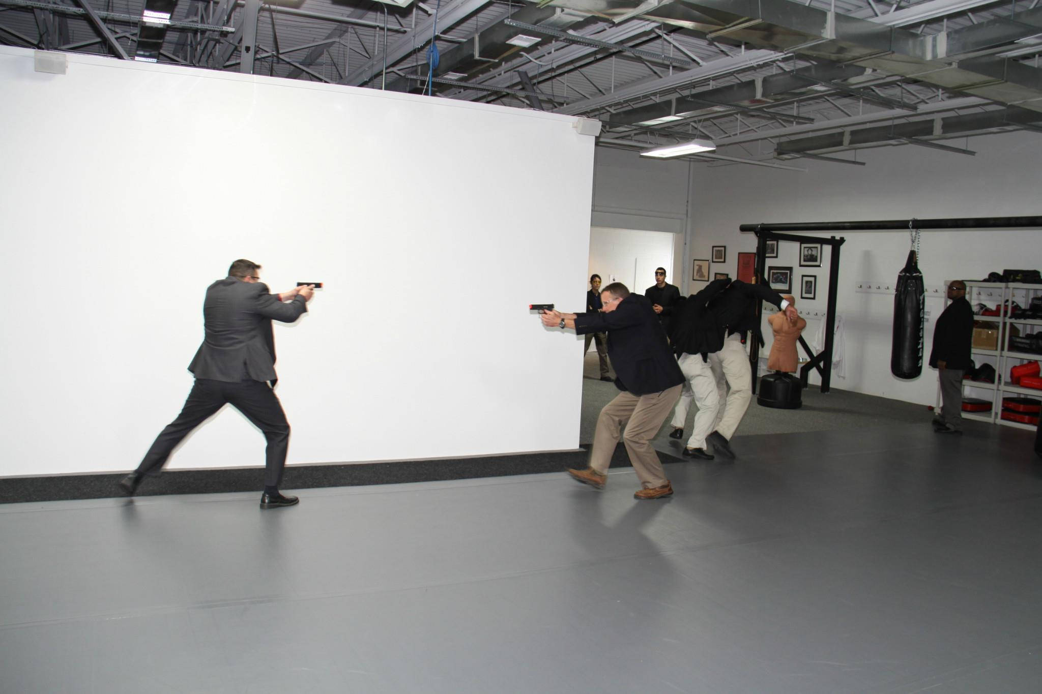 Armed Agent Training